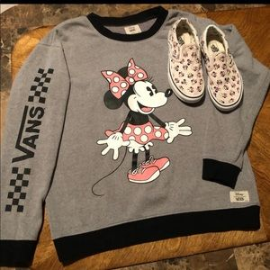Minnie Mouse vans sweater